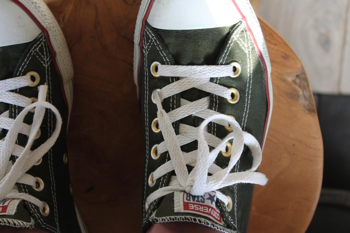 Converse All Stars verven met Dylon textielverf | DIY