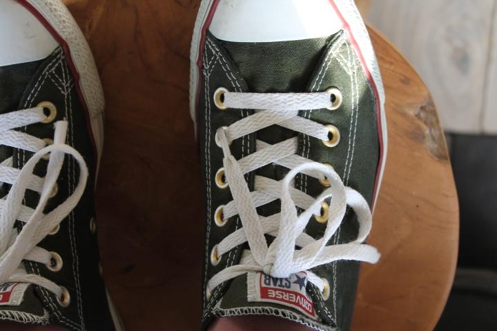 Converse All Stars verven met Dylon textielverf |DIY