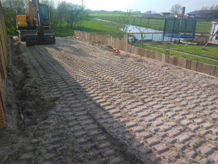 UPDATE: Hoe de bouw van het hok verloopt | PHOTODIARY