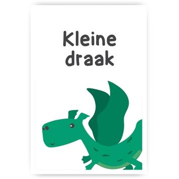 """""""Kleine draak"""" 30x45cm"""
